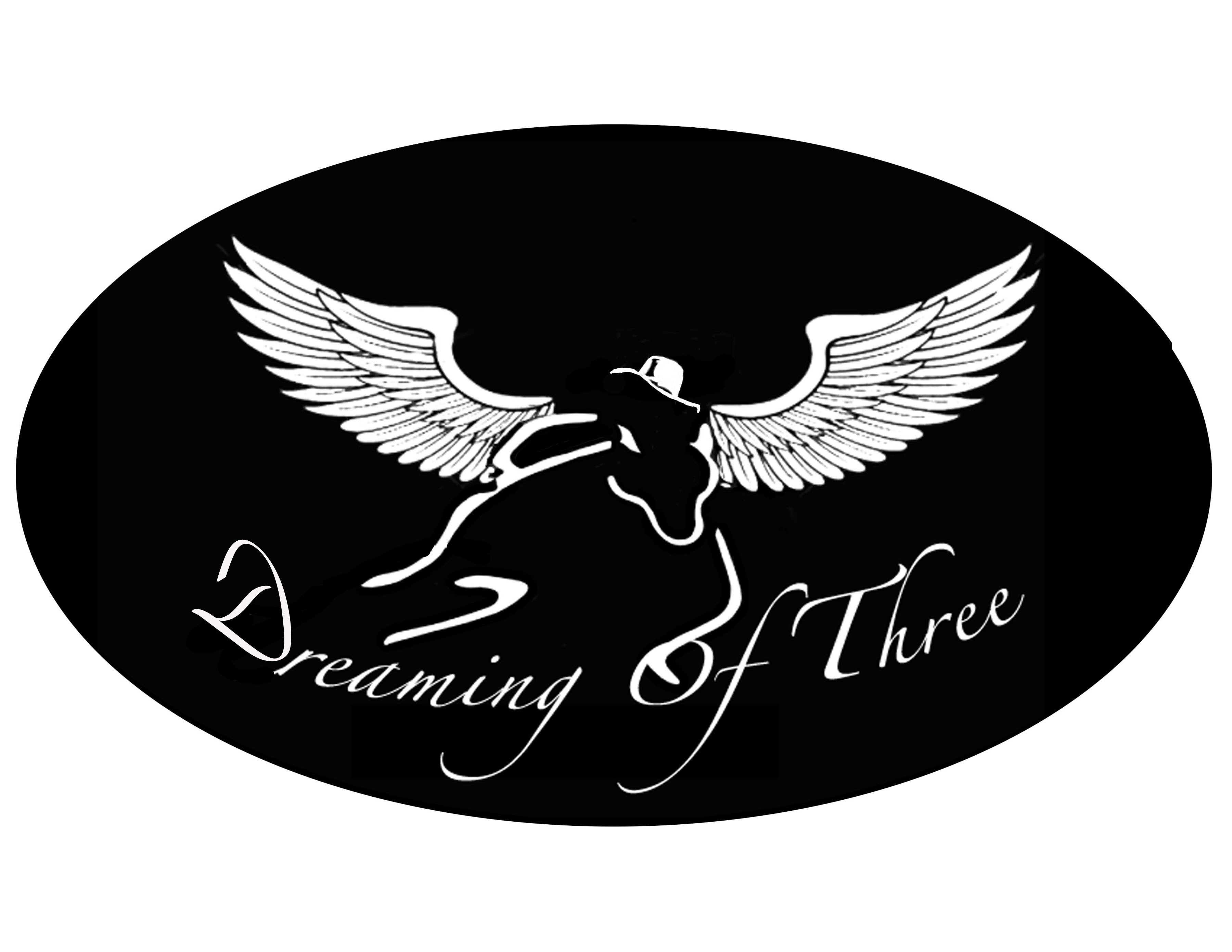 dreaming of three logo