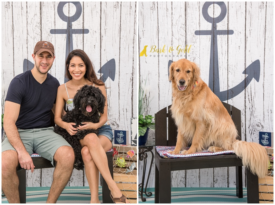 Petagogy Anniversary PAWty nautical pet photo booth
