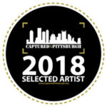 Captured Pittsburgh selected artist badge 2018