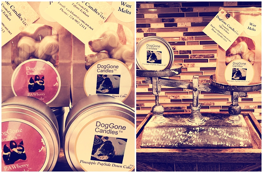 DogGone Candles wax melts and candles