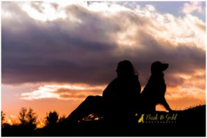 Silhouette Sunset Sessions: a Fine Art Pawtrait Session Option