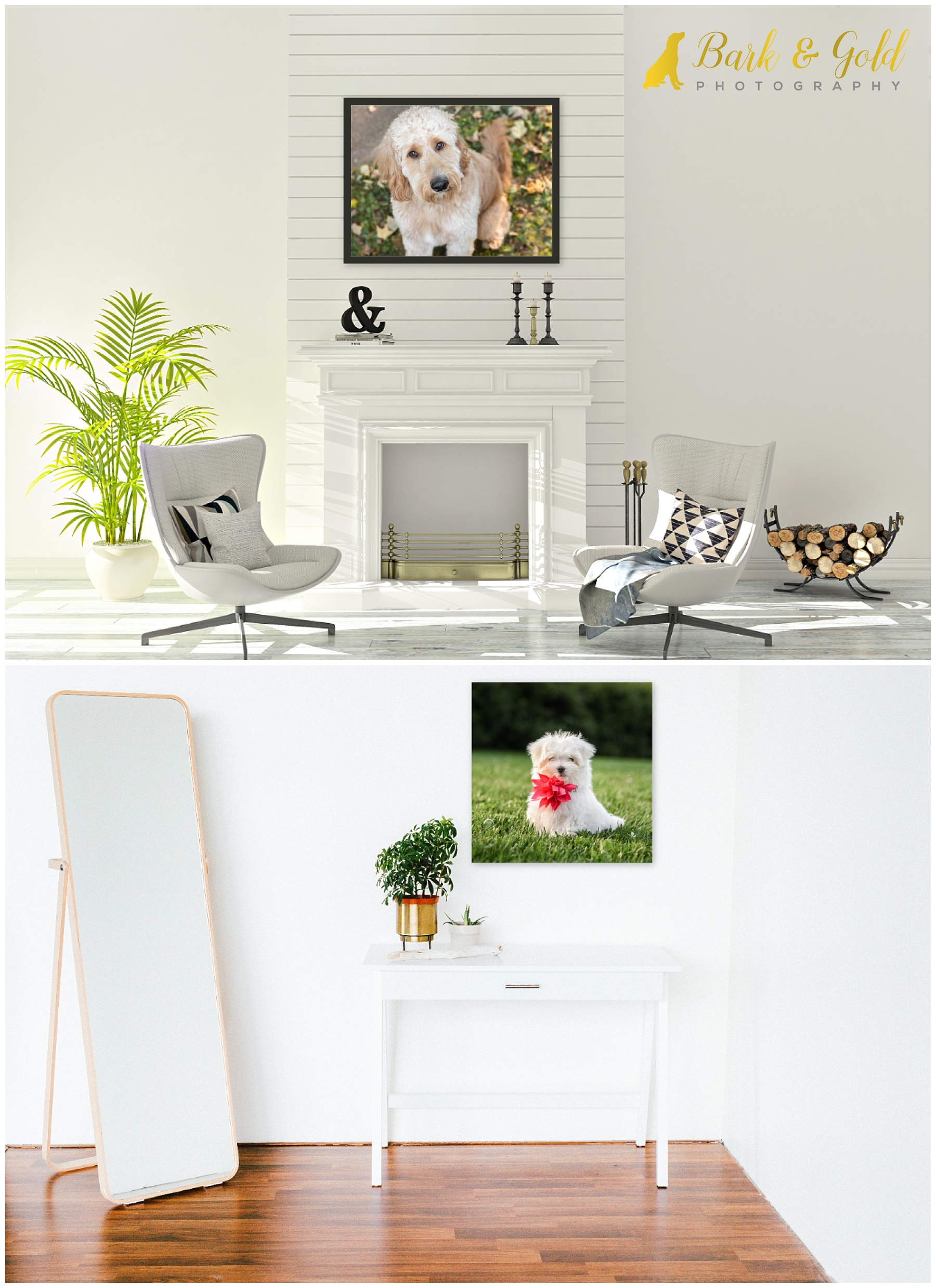 large signature wall art to fill wall space