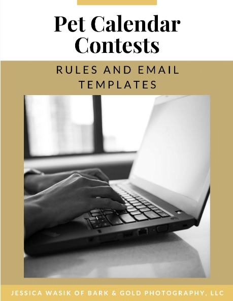 Pet Calendar Contest PDF Guide for contest rules and email templates