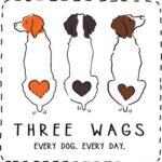 Three Wags logo
