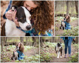 Bobo's Rainbow Session at Brady's Run Park - Pittsburgh Dog Photography
