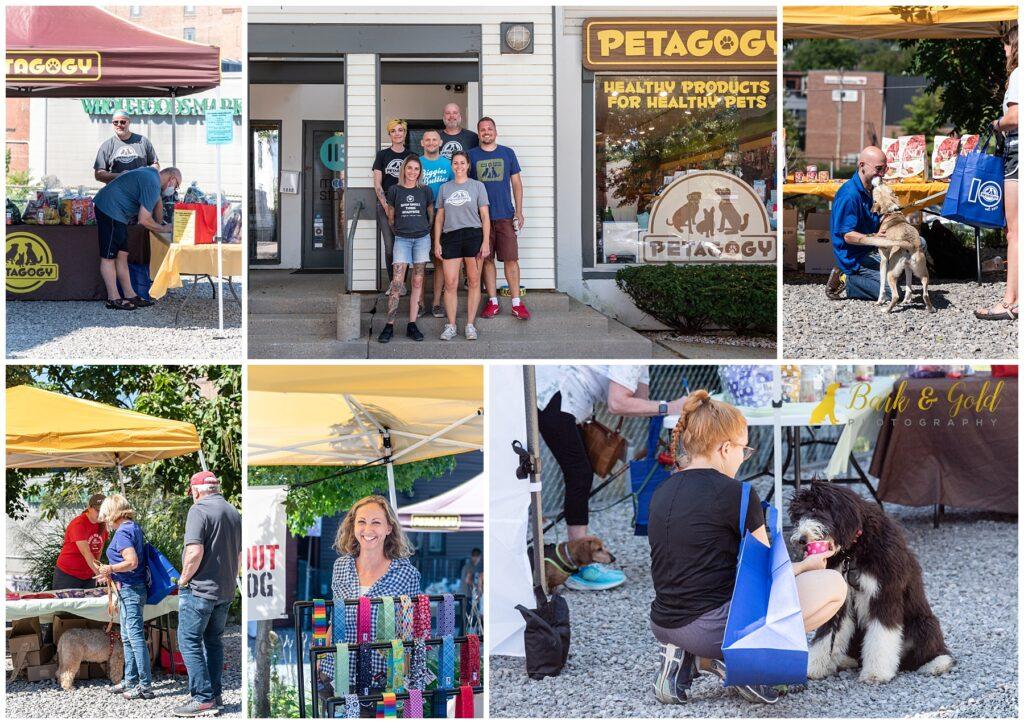 customers at Petagogy's 10th Anniversary PAWty & Pet Vendor Fair in Shadyside